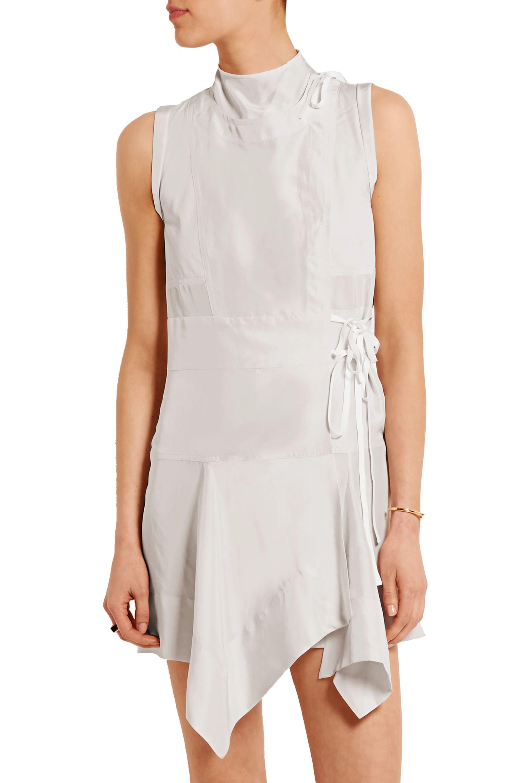 Isabel Marant Lewin wrap-effect silk mini dress