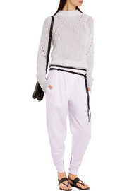 Isabel Marant Odrys cotton tapered pants