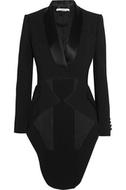 Givenchy Tuxedo jacket in satin-trimmed stretch-cady