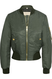 Burberry Brit Shell bomber jacket