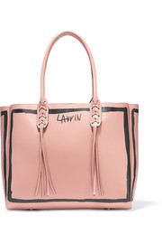 Lanvin Printed leather tote