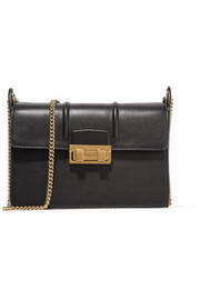 Lanvin Jiji mini textured-leather shoulder bag