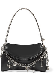 Alexander McQueen Medallion embellished leather shoulder bag