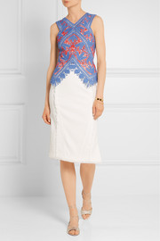 Tory Burch Evie crocheted lace top