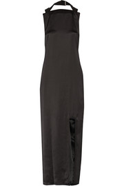 Rivka satin maxi dress