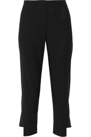 Harriet cropped stretch-wool pants