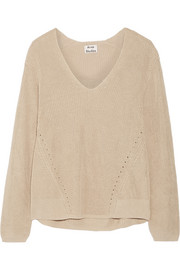 Deborah ribbed linen sweater