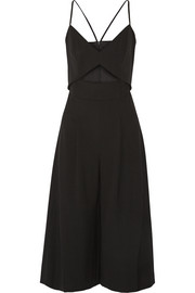 Mason by Michelle Mason Cutout stretch-cady jumpsuit