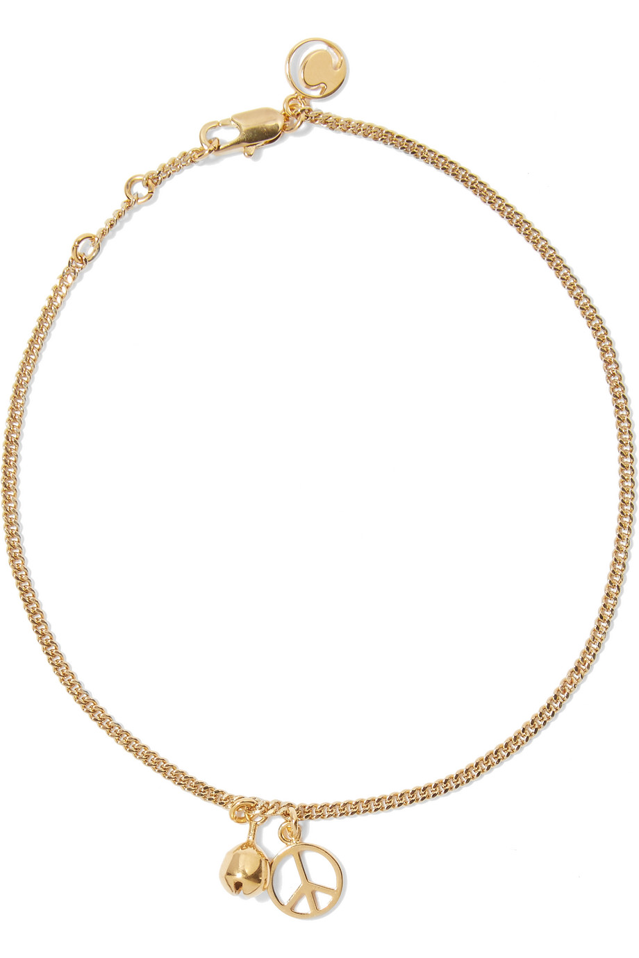 Chloé Gold-Plated Anklet, Women's