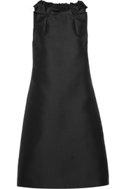 Lanvin Ruffled gazar mini dress
