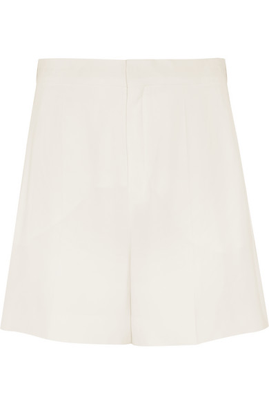 Chloé - Crepe Shorts - Off-white