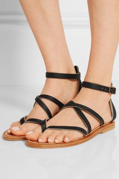 2e3d022bd13e K Jacques St Tropez. Epicure leather sandals