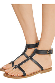 K Jacques St Tropez Artimon leather sandals