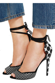 Pierre Hardy Lola polka-dot leather sandals