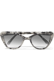 Venice cat-eye acetate sunglasses