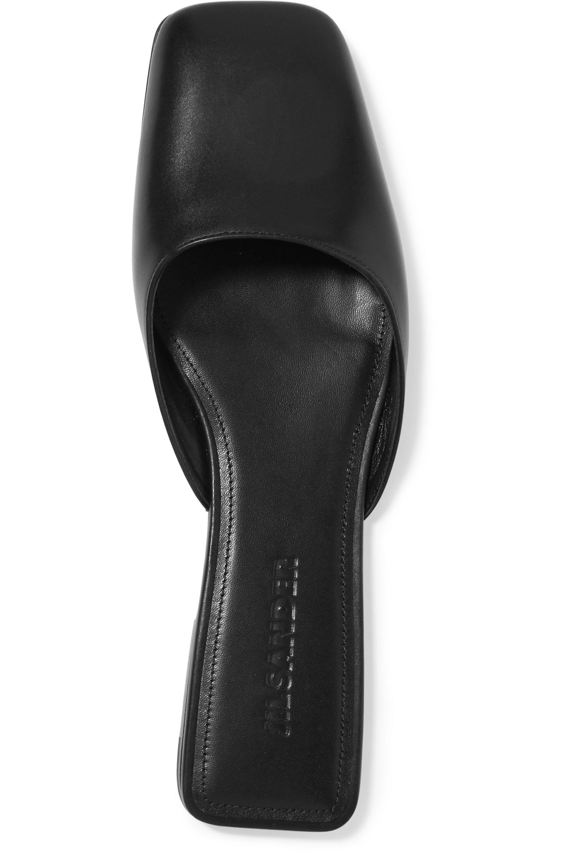 Jil Sander Leather slippers