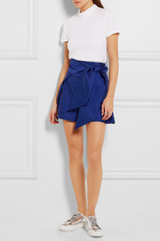 Paper London Ansou belted  twill shorts