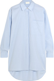 DKNY Oversized cotton-piqué shirt