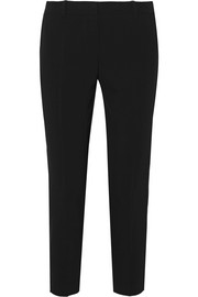 DKNY Cropped twill tapered pants