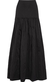Vanessa Bruno Elysée washed cotton-blend maxi skirt