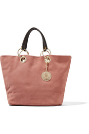 Summer brushed-suede tote