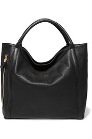 Harriet textured-leather tote