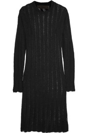 The Elder Statesman Cashmere and silk-blend sweater dress