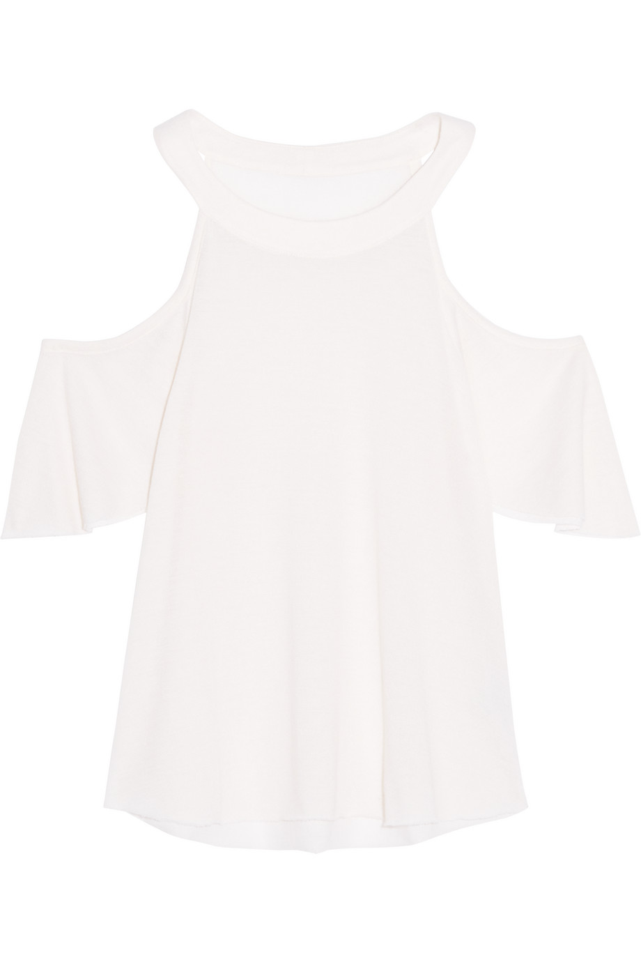 Cutout Cashmere and Silk-Blend Top, The Elder Statesman