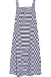 Tulum striped cotton-jersey dress
