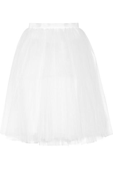 Ballet Beautiful - Tulle Skirt - White