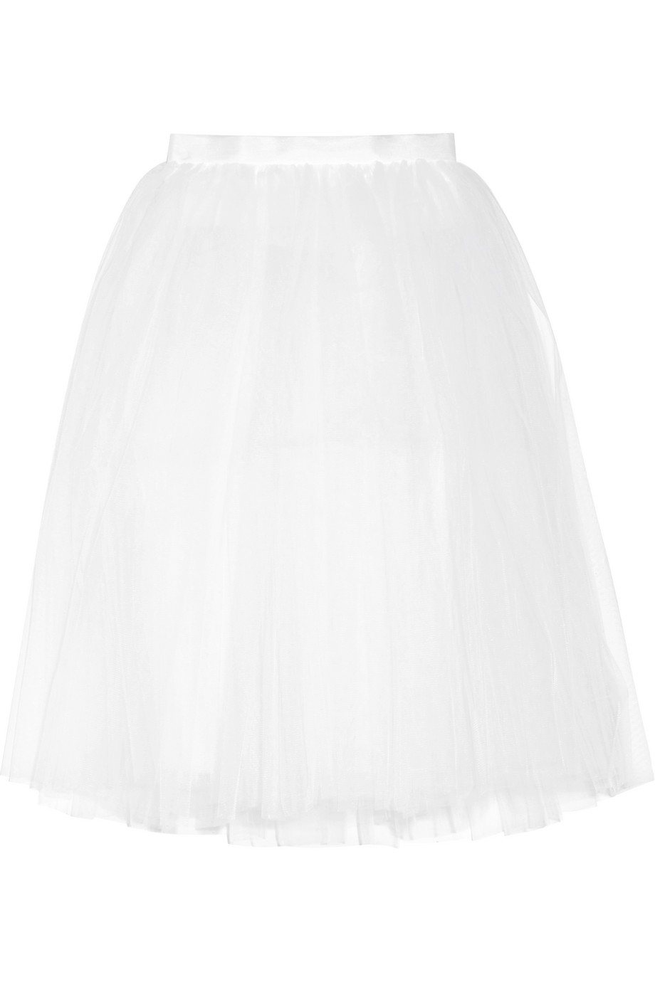 Tulle Skirt, Ballet Beautiful, White, Women's, Size: L