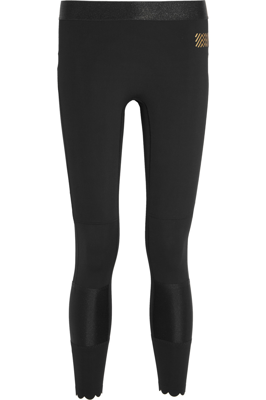 Monreal London Spectrum Stretch-Jersey Leggings, Black, Women's, Size: XS