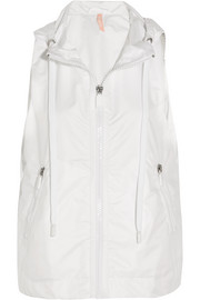 Mile hooded shell vest