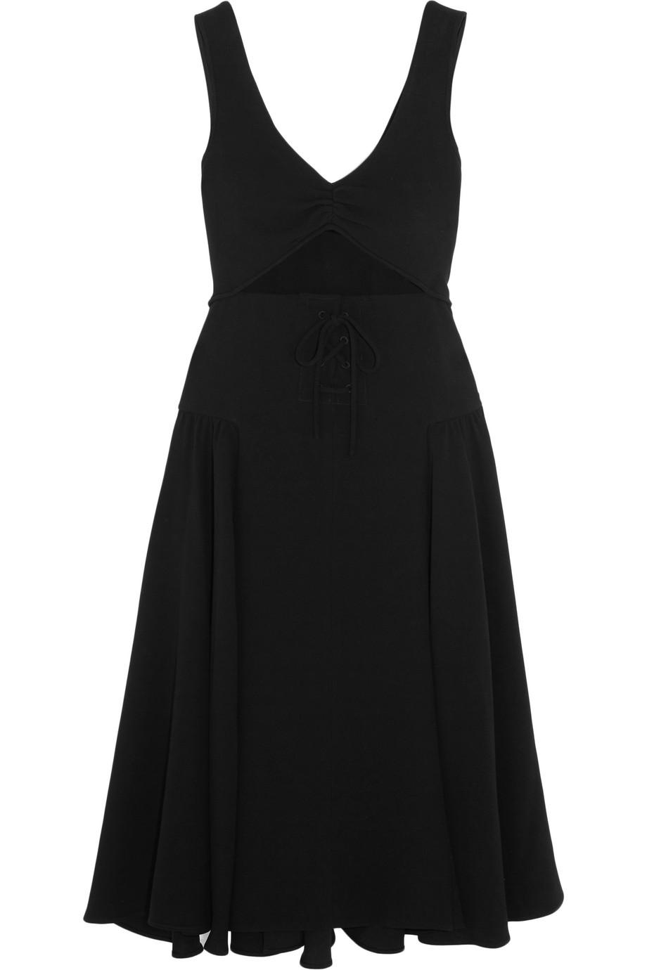 J.W.Anderson Cutout Crepe Dress, Size: 8