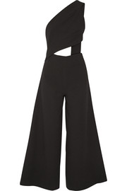 Addison cutout crepe jumpsuit