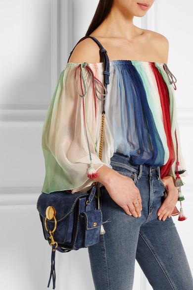 chloe wallets online - Chlo�� | Jodie small suede shoulder bag | NET-A-PORTER.COM