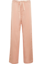 Ally silk-charmeuse pajama pants