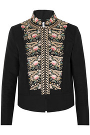 Freya embroidered cotton jacket