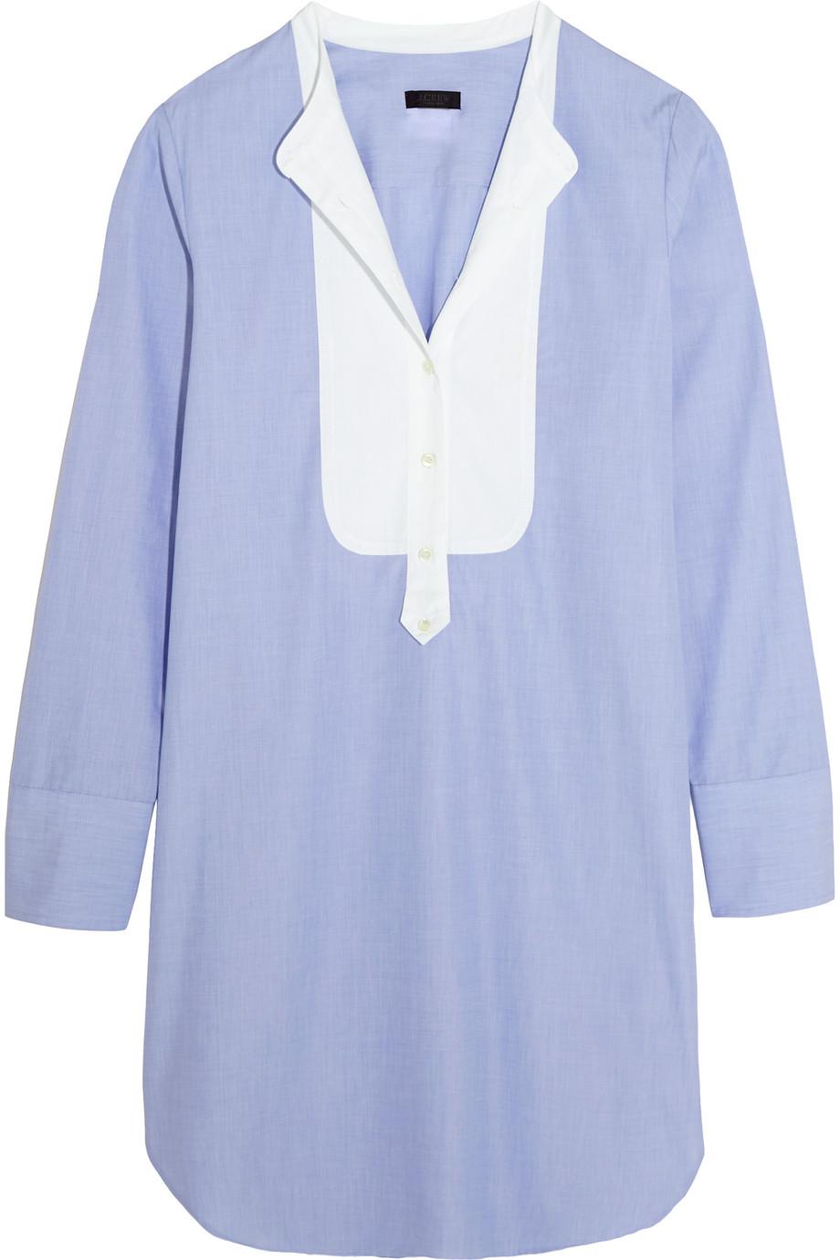 J.Crew Collection Thomas Mason Cotton Mini Dress, Size: 0