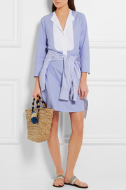 J.Crew Collection Thomas Mason cotton mini dress