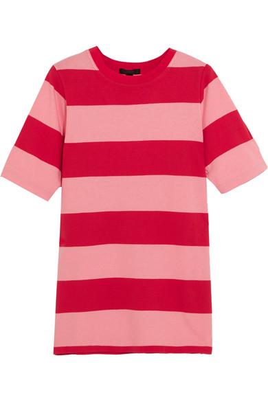 J.Crew - Striped Cotton-jersey T-shirt - Pink