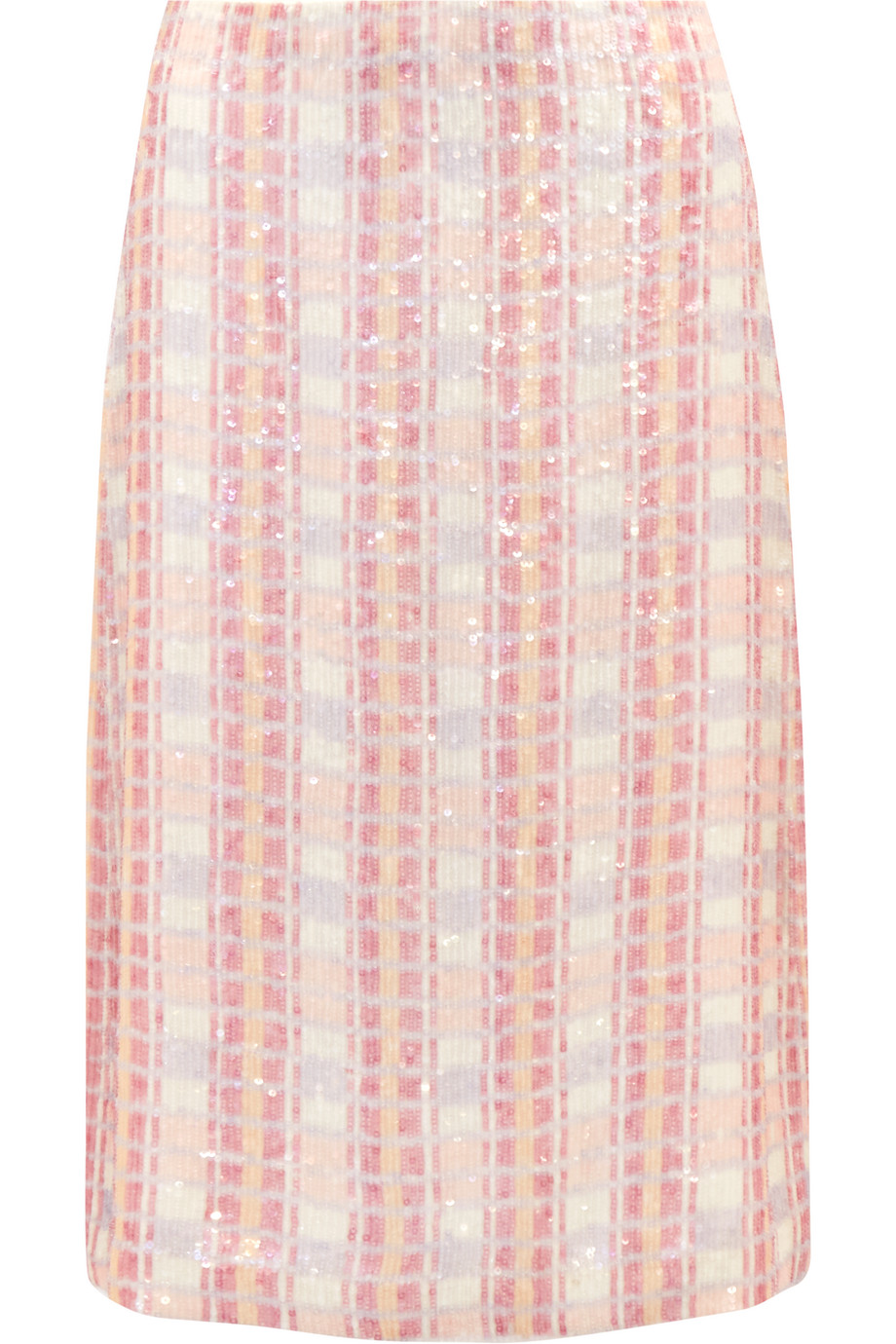 J.Crew Collection Sequined Silk-Georgette Midi Skirt, Size: 2