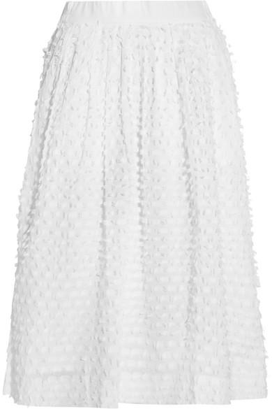 J.Crew - Bradbury Fil Coupé Cotton Skirt - White