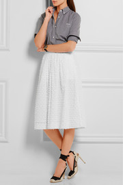 J.Crew Bradbury fil coupé cotton skirt