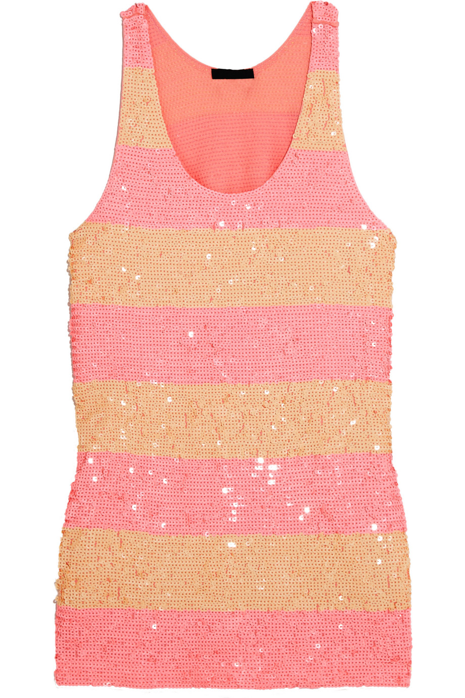 J.Crew Collection Sequined Cotton Tunic, Pink, Women's, Size: L