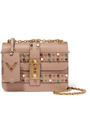 The Rockstud embellished leather shoulder bag