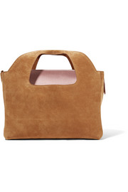 Two For One suede tote