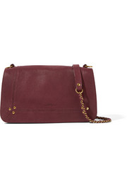 Bobi textured-leather shoulder bag