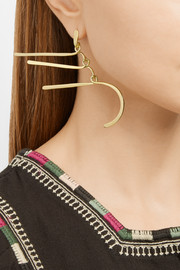 Aurélie Bidermann Vera gold-plated earrings