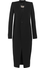 Stretch-wool coat